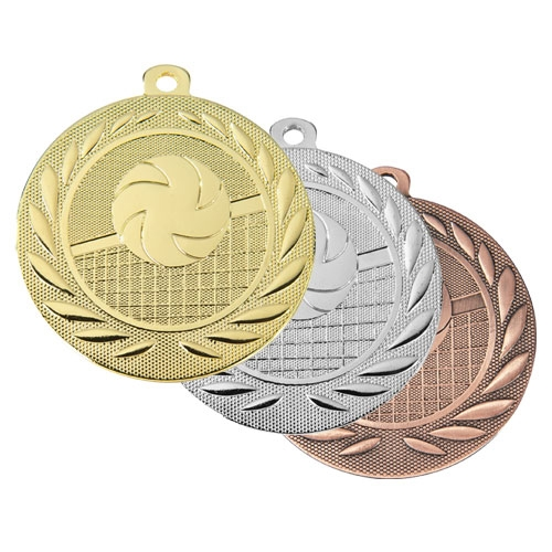 Volleyball medalje 50mm