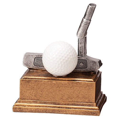 Statuette golf putter
